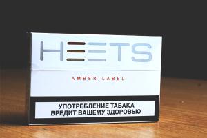 Thuốc Lá Heets Amber Nga (Vị Nicotin đậm)