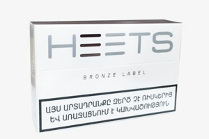 Thuốc lá IQOS Heets Bronze Armenia