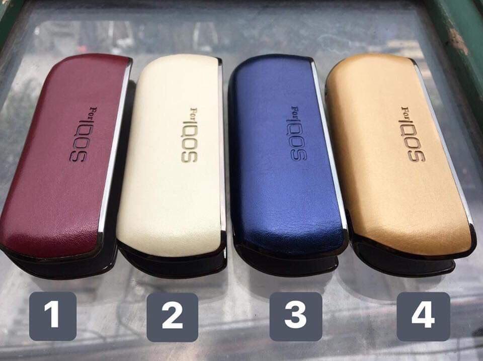 Bao Da IQOS 3 - IQOS 3.0 Black - Brown - Navy - Red và nhiều màu khác