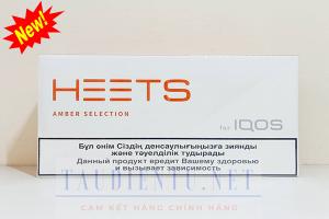 Thuốc IQOS Heets Amber Selection Kazakhstan