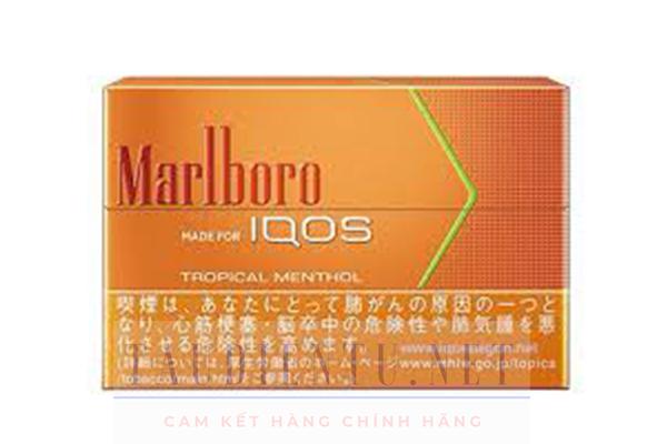 Thuốc lá iqos Marlboro Tropical Menthol - Vị Hoa Quả Nhiệt Đới