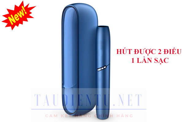 may-IQOS-3-DUO Nga – Stellar Blue – mau xanh