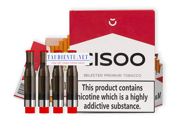Tinh dầu Cisoo Selected Premium Tobacco