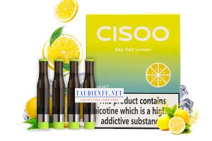 Tinh dầu cisoo vị chanh muối - Cisoo Sea Salt Lemon