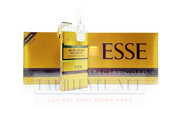 Esse special gold màu vàng dutyfree Hàn Quốc