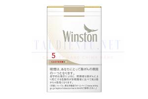 Thuốc lá Winston Caster 5 hàng Dutyfree Nhật Bản